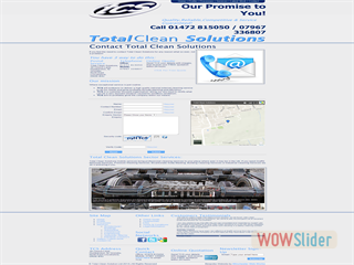 TCS - Contact Page