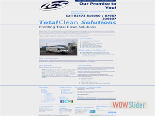 Total Clean Solutions - Profile