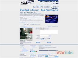 Total Clean Solutions - Online Quote