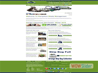 Hampshire Waste Management- Homepage